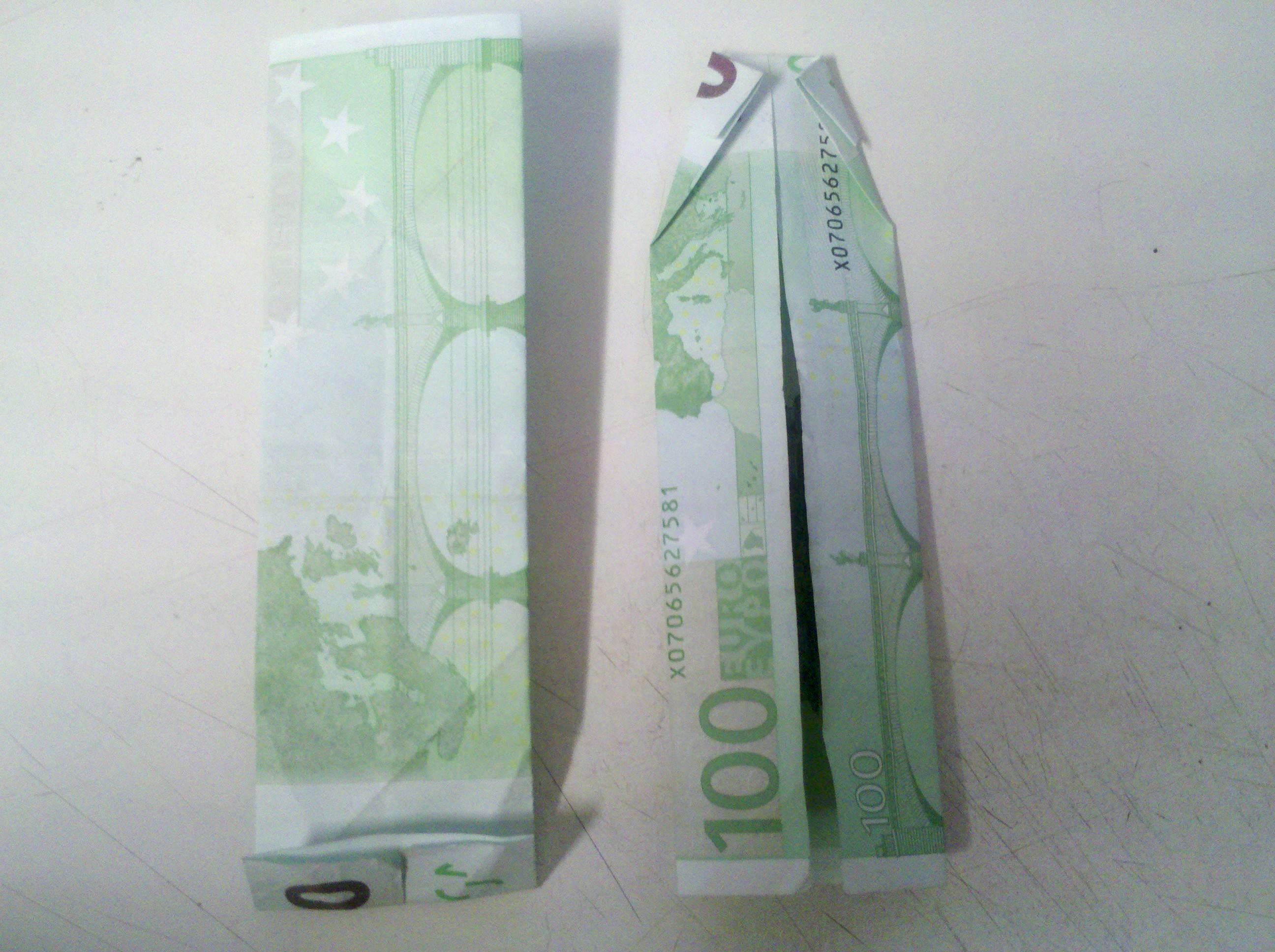 hemd aus geldschein falten origami mit geldscheinen. Black Bedroom Furniture Sets. Home Design Ideas