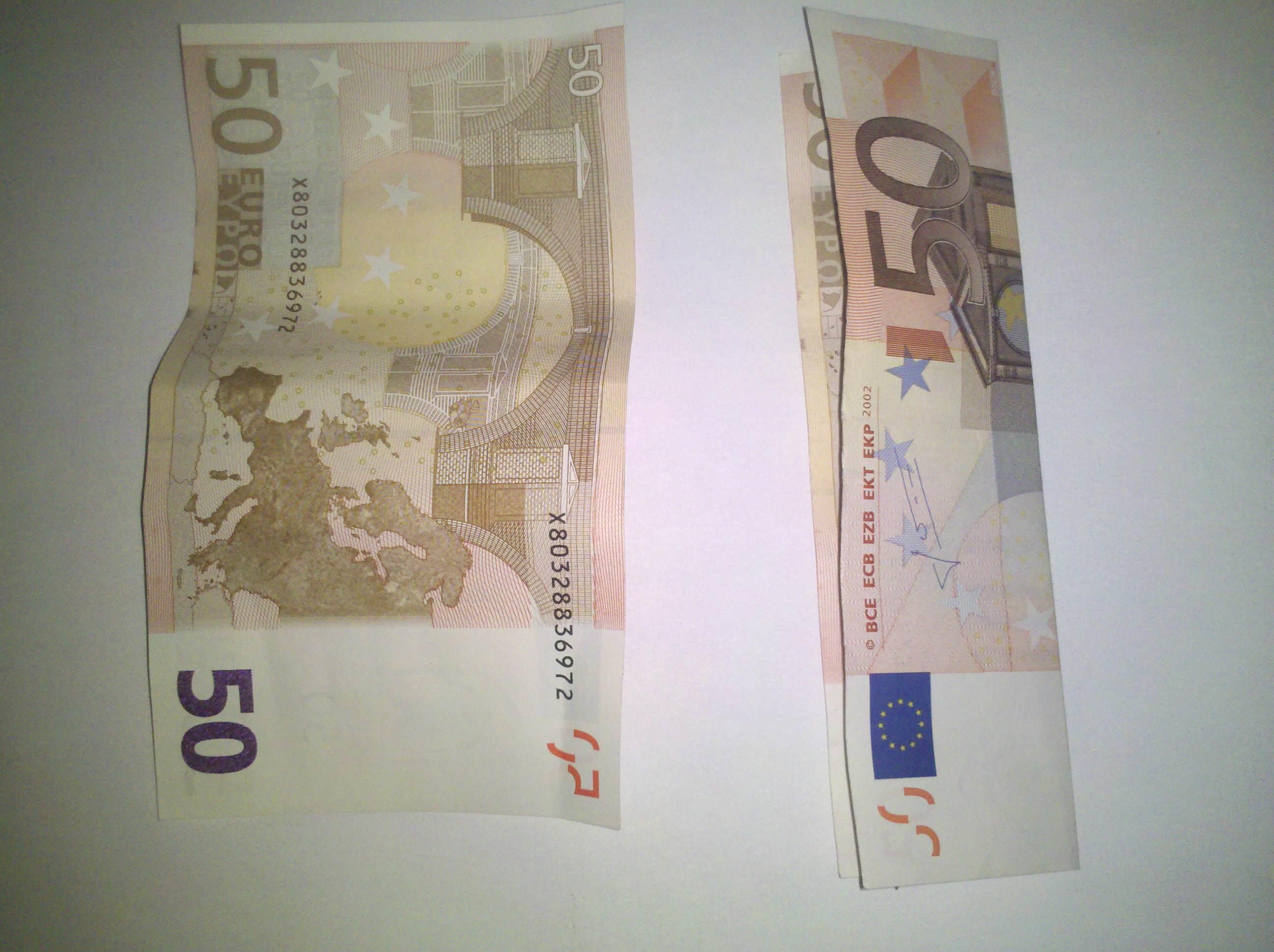 Zahl 1 Aus Einem Geldschein Falten Origami Mit Geldscheinen