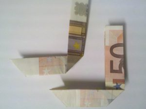 Folding Bills: Nummer 0 aus 2 Bills - Step 4
