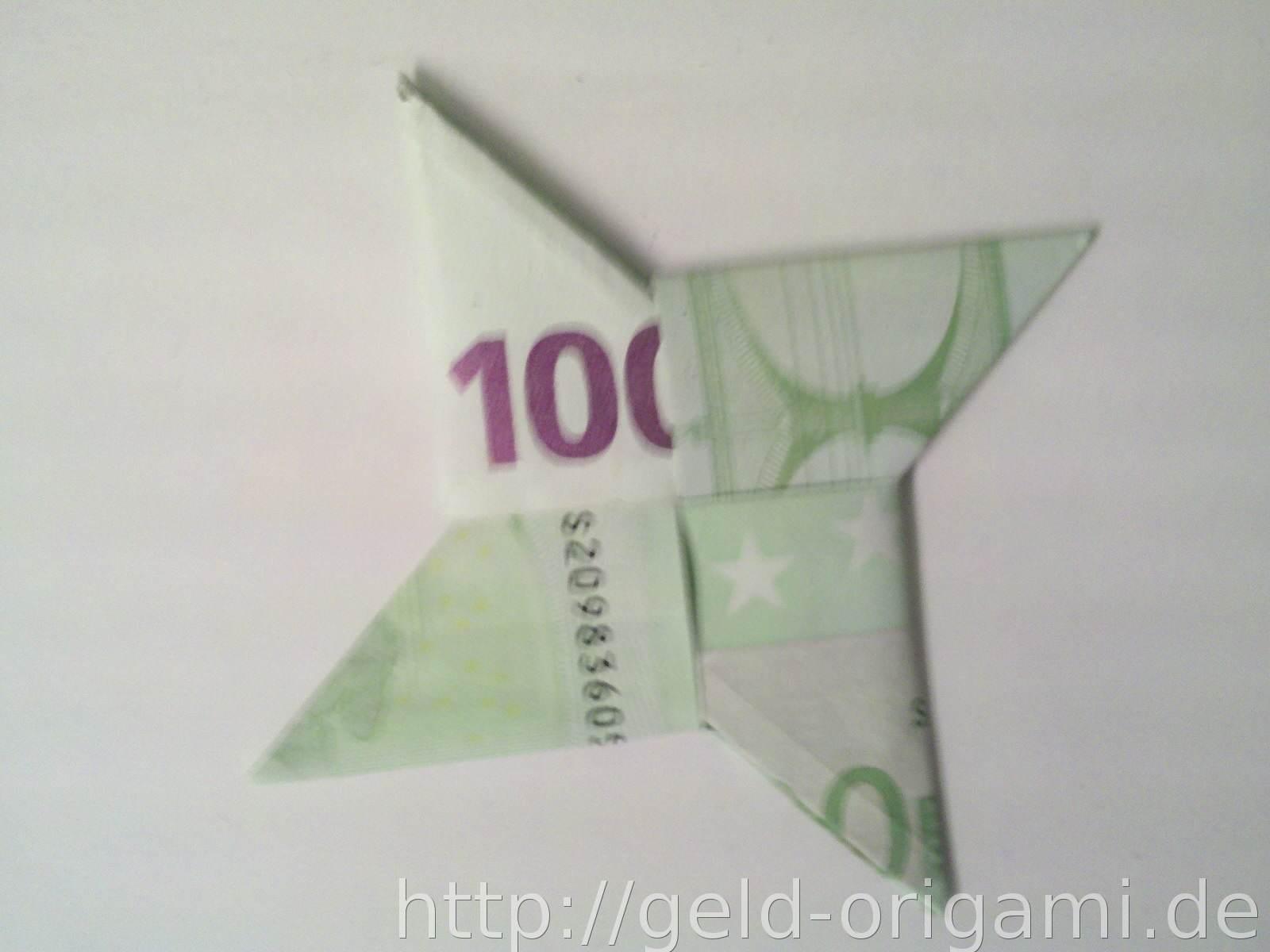 origami stern aus geldscheinen falten schritt 10 origami mit geldscheinen. Black Bedroom Furniture Sets. Home Design Ideas