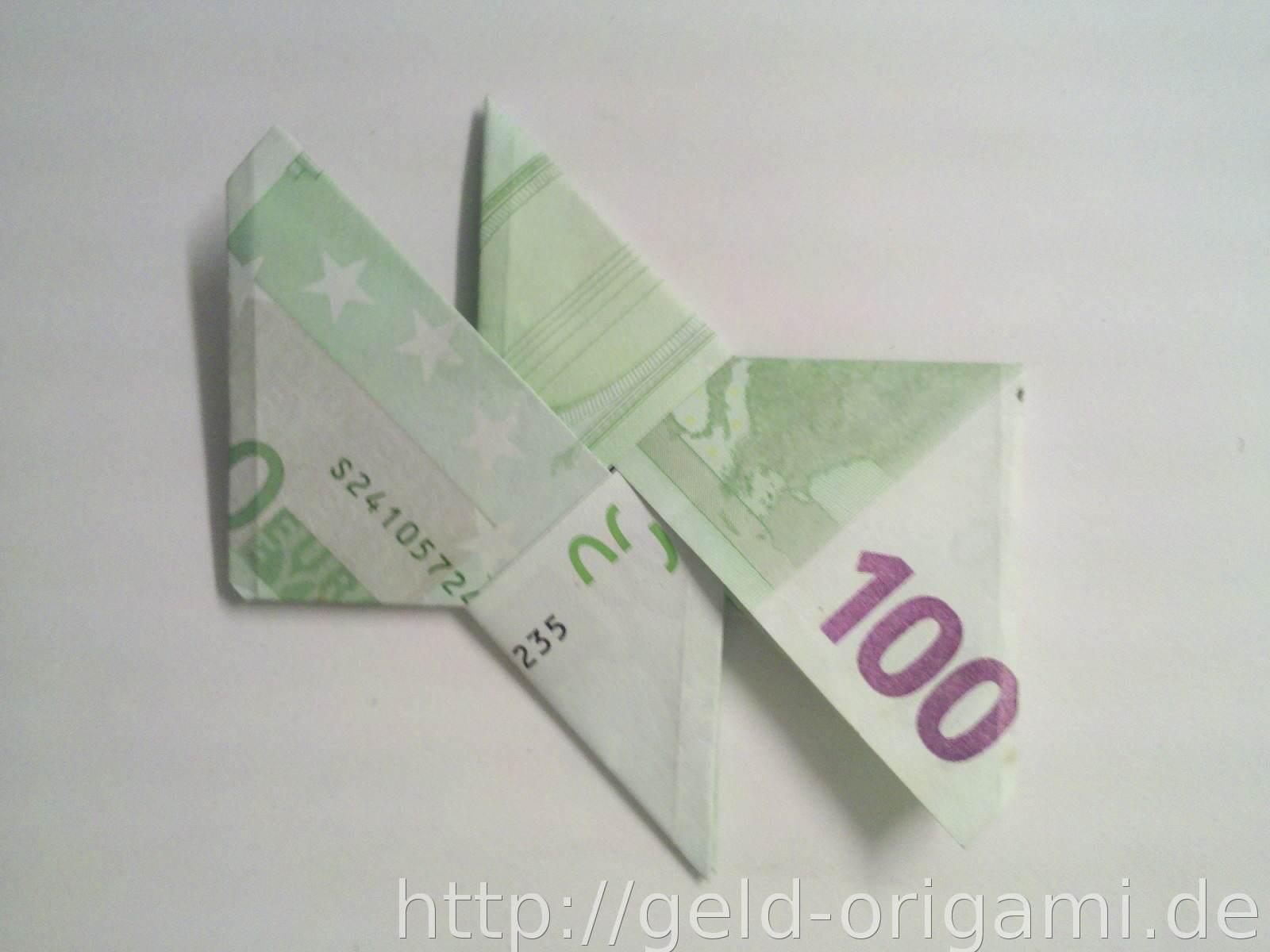 origami stern aus geldscheinen falten schritt 9. Black Bedroom Furniture Sets. Home Design Ideas