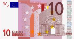 10 Euro Napomena
