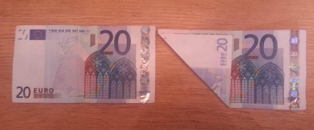 schmetterling aus einem geldschein falten origami mit geldscheinen. Black Bedroom Furniture Sets. Home Design Ideas