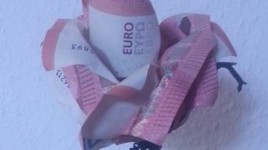 Rose Aus Geldscheinen Falten Origami Mit Geldscheinen