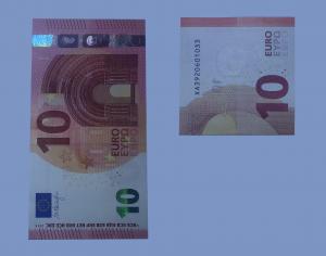 Doblar rosa de los billetes: Paso 1
