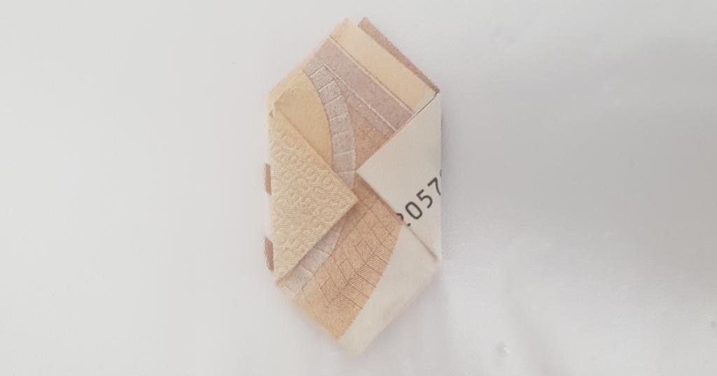 Brett blomsten fra en regning - trinn 14