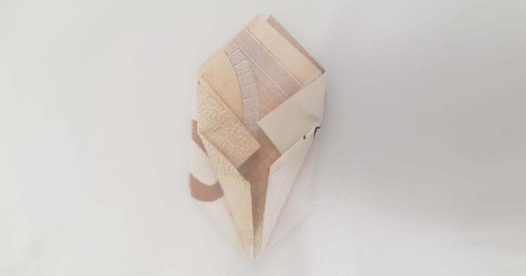 Brett blomsten fra en regning - trinn 15