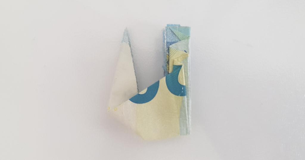 Сгъваем паун от банкнота - стъпка 21