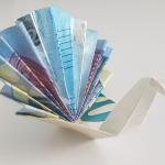 Pfau aus einem Geldschein falten