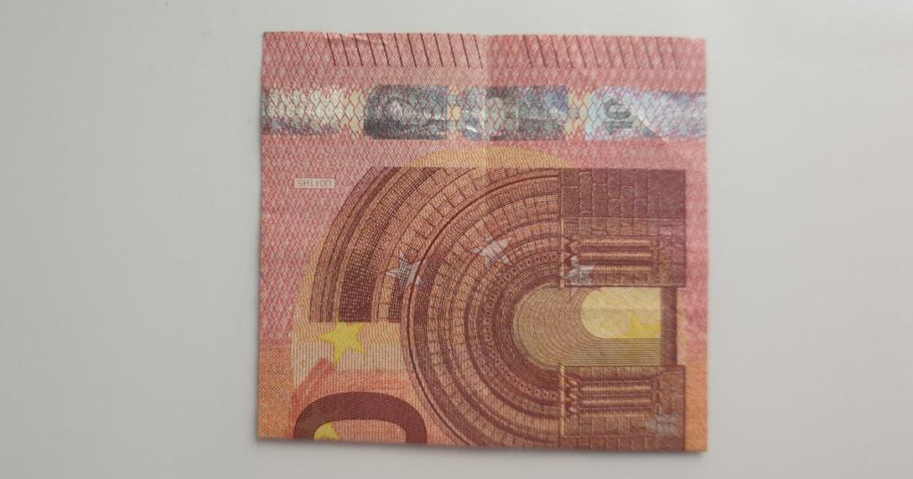 Božićne čizme rasklopite iz novčanice - Korak 10