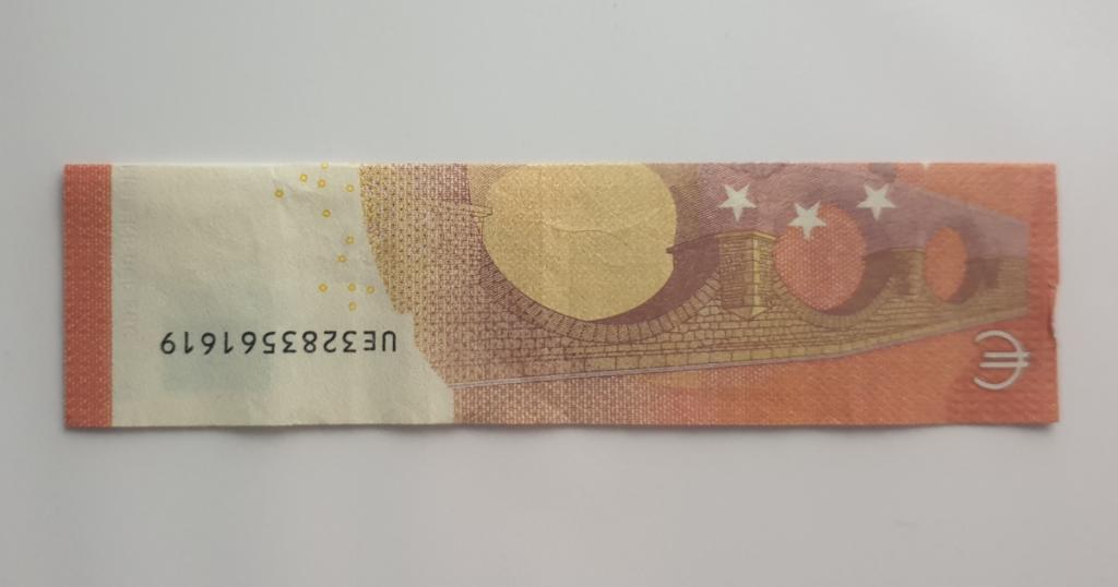Božićne čizme rasklopite iz novčanice - Korak 2