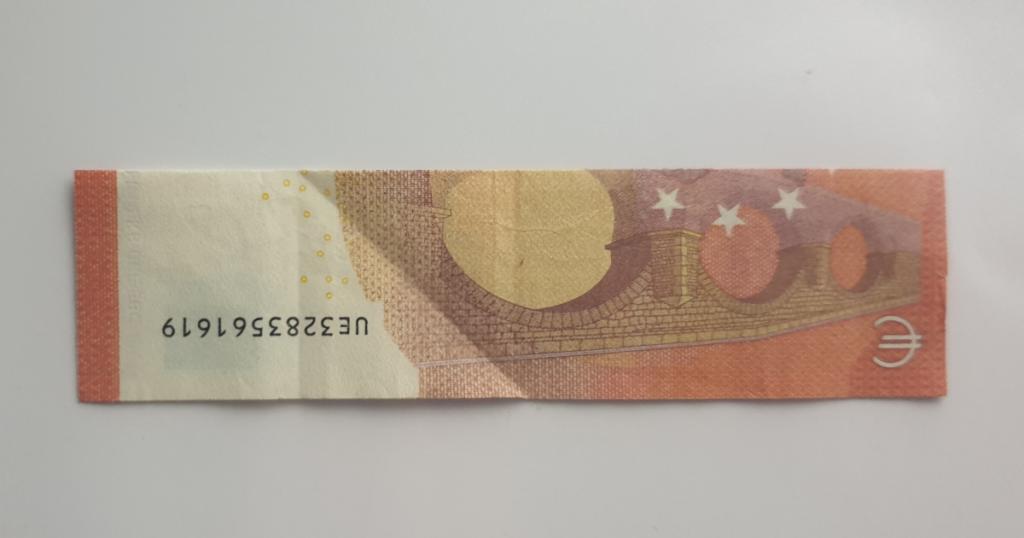 Božićne čizme rasklopite iz novčanice - Korak 8