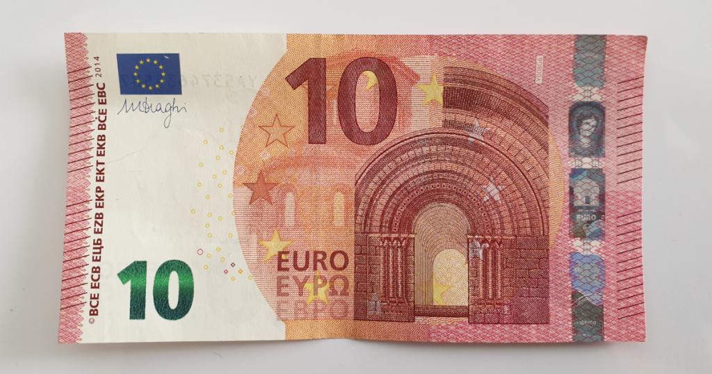 Kukkuva tähe voltimine pangatähtedelt - 1. samm